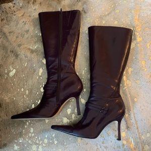 Purple Antonio Melani Glove Fit Boot